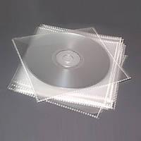 Конверт для дисков CD DVD пластиковый c окном