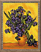 """Набор для вышивки RIOLIS 1087 """"Ирисы"""" по мотивам картины В. Ван Гога"""""""
