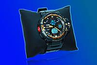 Электронные часы Skmei 1148 (black gold)