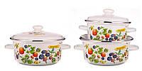Набор посуды Epos Ягода 6 предметов емаль (№763 Ягода)