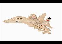 3D пазл Истребитель (3 доски) .   t-n