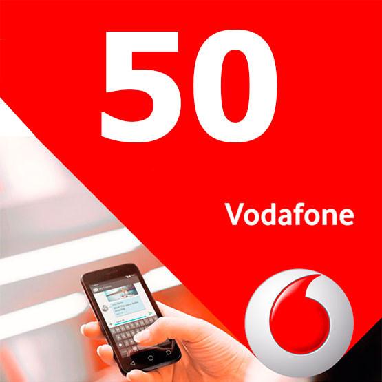 Стартовые пакеты Vodafone 50