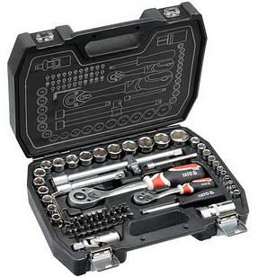 Набір інструментів ключів Yato 72 предмета YT-38782 комплект