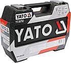 Набор инструментов ключей Yato 72 предмета YT-38782 комплект, фото 2