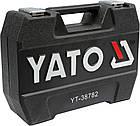 Набір інструментів ключів Yato 72 предмета YT-38782 комплект, фото 3