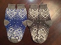 Теплые носки из ангоровой шерсти