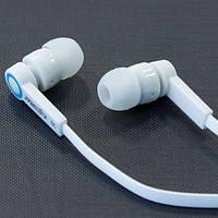 Гарнитура MEIA M7 (Белый) айфон iphone самсунг наушники вакуумные с микрофоном 3.5 samsung lenovo xiaomi