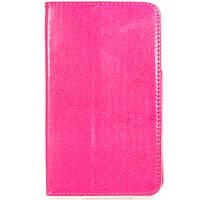 Чехол книжка 7 дюймов Samsung универсальный для планшета (Розовый)