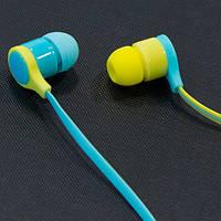 Наушники AIYALE A35 (Синий) вакуумные для планшета самсунга айфона 3,5 samsung iphone