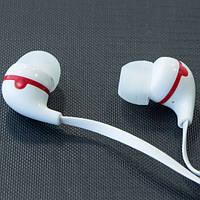 Наушники вакуумные с микрофоном MUSUN E13 (Белый) для lenovo xiaomi samsung с разъемом 3,5