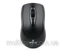 Мышка REAL-EL RM-207, USB, black