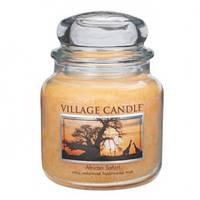 """Ароматическая свеча """"Африканское сафари"""" в стекле Village Candle. 455 гр/ 105 часов"""