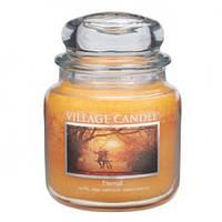 """Ароматическая свеча """"Вечная любовь"""" в стекле Village Candle. 455 гр/ 105 часов"""
