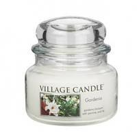 """Ароматическая свеча в стекле Village Candle """"Гардения"""". 315 гр/ 55 часов"""