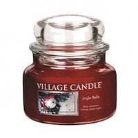 """Ароматическая свеча """"Jingle Bells"""" в стекле Village Candle. 315 гр/ 55 часов"""