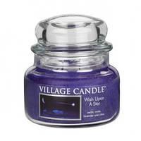 """Ароматическая свеча в стекле Village Candle """"Падающая звезда"""". 315 гр/ 55 часов"""