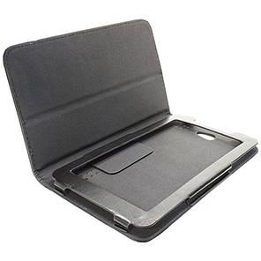 Чехол - книжка подставка для планшета Lenovo Tab 7 черный, фото 2