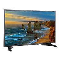 """Телевизор 32"""" Nomi LED 32H10 расширение 1366 х 768 32 дюйма с Т2 тюнером HDTV широкоформатный экран 16:9 black"""