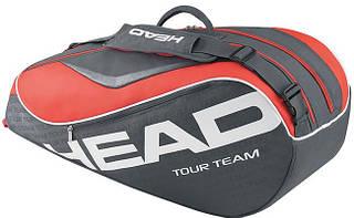 Вместительная теннисная сумка-чехол  на 6 ракеток 283265 Tour Team 6R Combi  ANCO HEAD