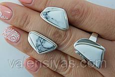 Серебряные женские украшения с  ларимаром