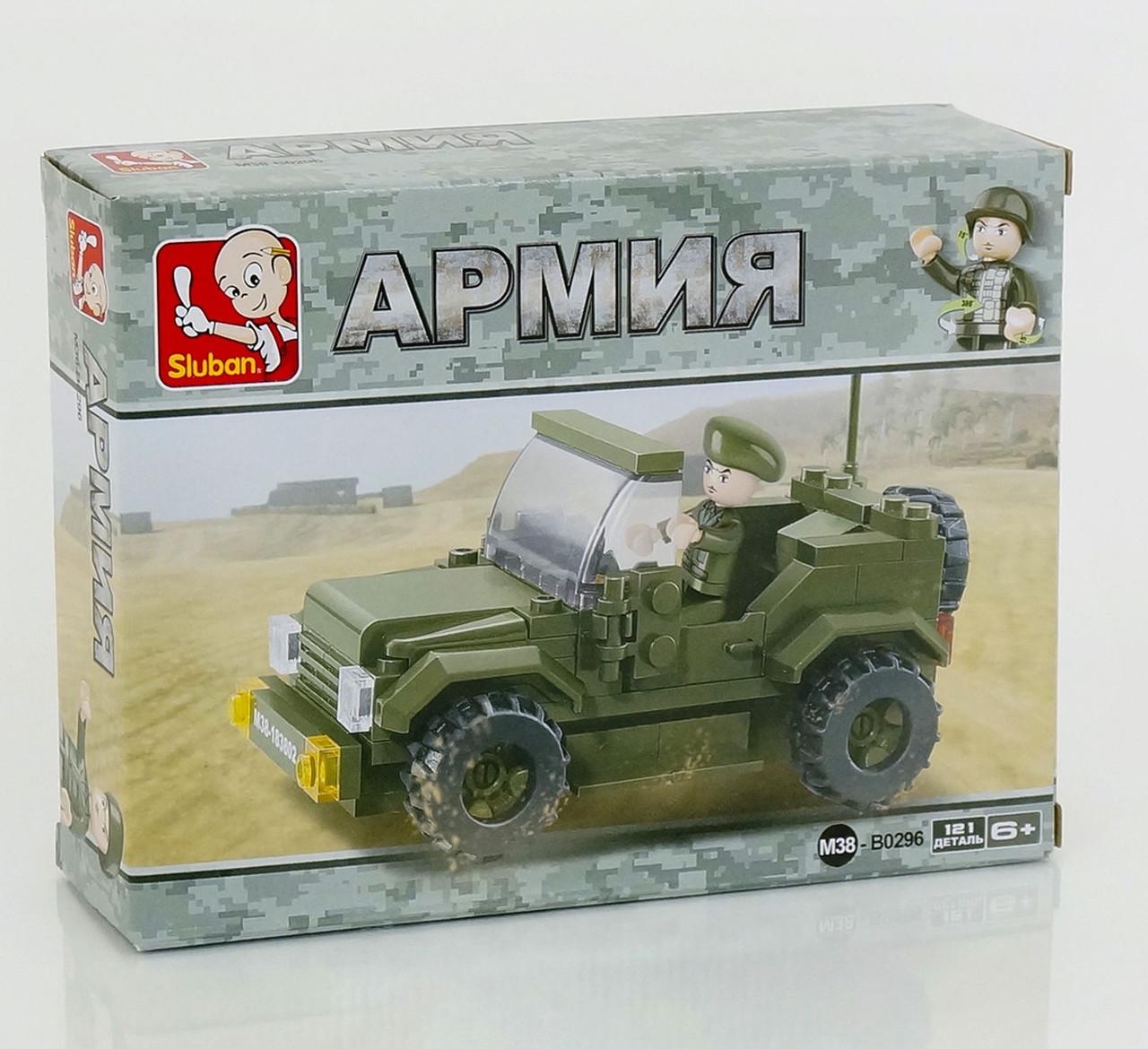 Конструктор для детей военный джип
