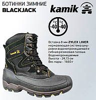 Зимние мужские ботинки BLACKJACK размер 43 WK0075BLK-10