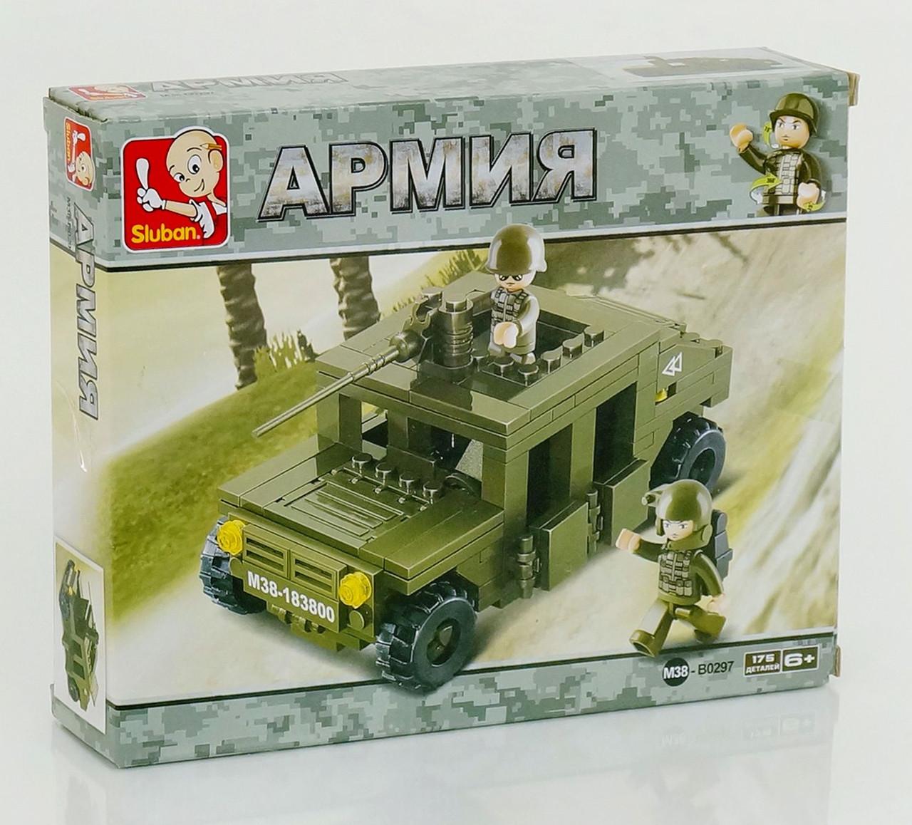Детский конструктор военная машина