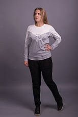 Женский модный свитшот больших размеров, фото 2