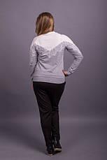 Женский модный свитшот больших размеров, фото 3