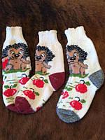 Теплые женские ангоровые носочки