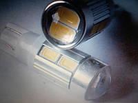 Лампа лед светодиодная т10 w5w с линзой