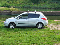 Молдинги на двери Nissan Tiida C11 2004-2012