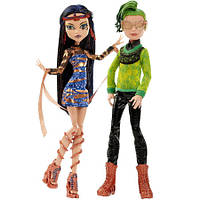 Кукла Монстр Хай Monster High Boo York Cleo De Nile & Deu (Matell)