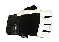 Перчатки спортивные, для зала PowerPlay Перчатки MENS 1561 / M / white /