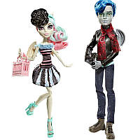 "Кукла Монстр Хай Monster High ""Love in Garrott & Rochell"" Набор Герот и Рошель (Matell)"