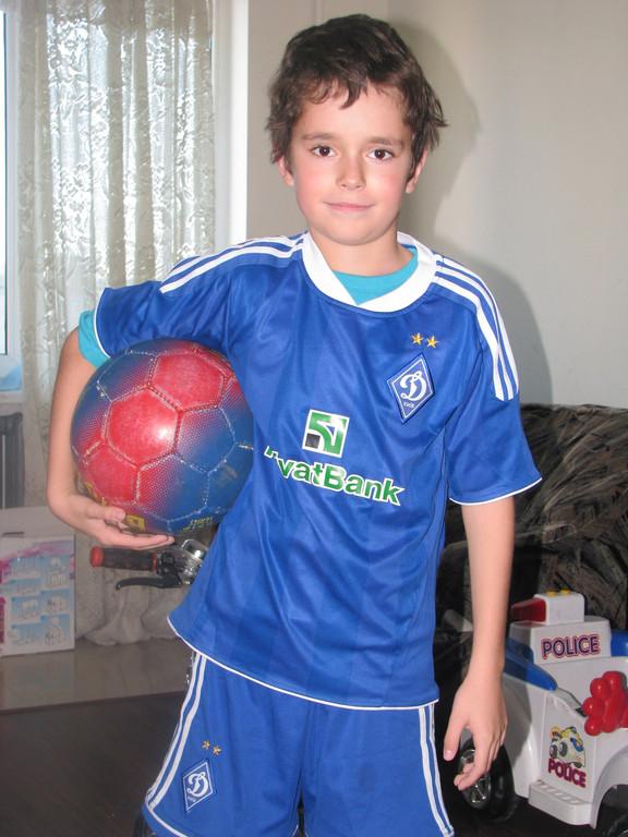 Футболист из Одессы!