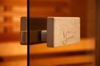 Дверь для сауны стеклянная Classic (матовая бронза), фото 2