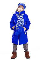 Детская зимняя куртка с шарфом