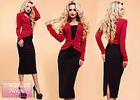 Шикарное платье Неери красный