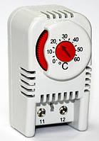 Термостат термо реле регулятор температуры воздуха на DIN дин рейку НЗ н3 контакт цена купить