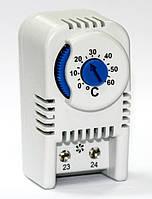 Терморегулятор термостат для шкафов термо регулятор температуры воздуха на DIN рейку НО контакт цена купит