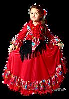 Детский карнавальный костюм ЦЫГАНОЧКА код 9227