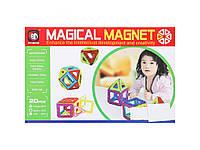 Магнитный конструктор 3D Magical Magnet 20, детский конструктор Меджикал Магнет 20 деталей, фото 1