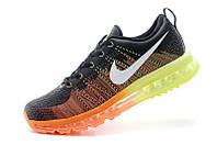 Mужские кроссовки Nike Air Max Flyknit Black/Orange
