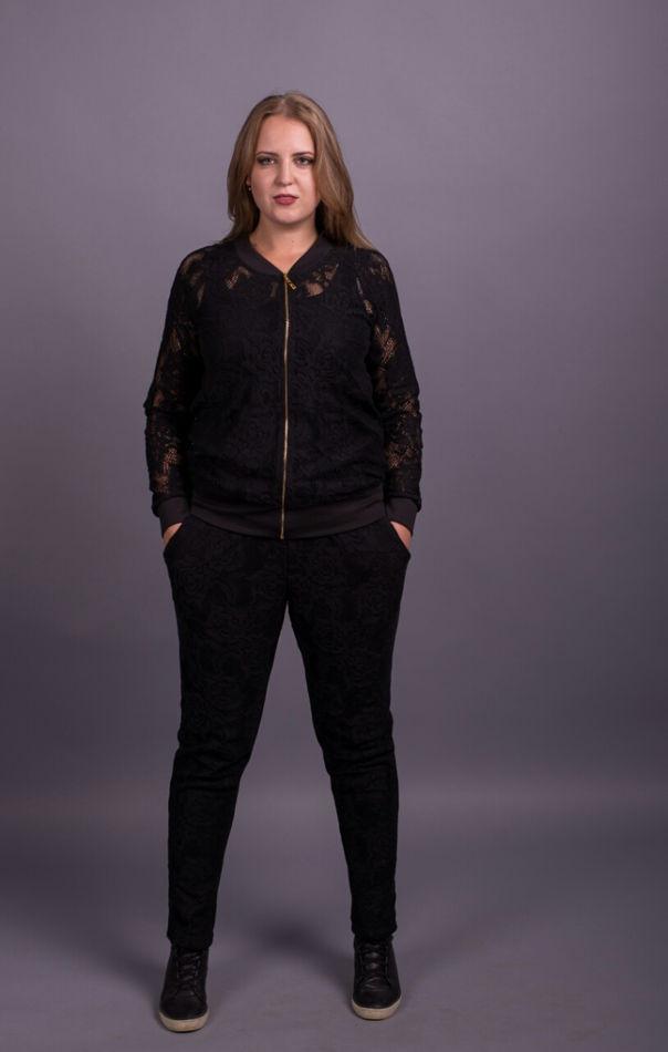 Модный женский спортивный костюм больших размеров 48-70 размер