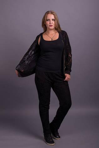 Модный женский спортивный костюм больших размеров 48-70 размер, фото 2