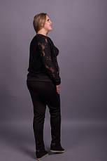 Модный женский спортивный костюм больших размеров 48-70 размер, фото 3