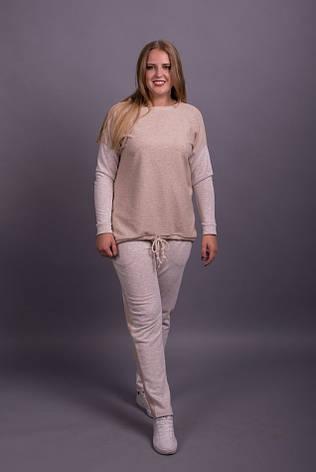 5cea4af3af957 Стильный женский костюм спортивный полным: 1 190 грн. Купить в ...