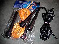 Скакалка с PVC жгутом плетенным