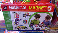 Детский развивающий конструктор Magical Magnet 40 деталей, конструктор трансформер Меджикал Магнет, фото 1